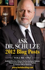 Ask Dr. Schulze's 2012 Blog Posts Volume One, book cover