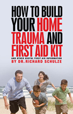Home Trauma and First Aid Book, book cover