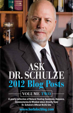 Ask Dr. Schulze's 2012 Blog Posts Volume Two, book cover
