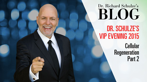 Dr. Schulze's VIP Evening 2015: Cellular Regeneration Part 2
