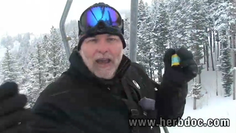Take a ride on a ski lift with Dr. Schulze!