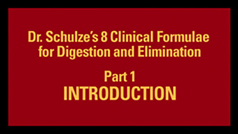 Dr. Schulze's 8 Clinical Formulae