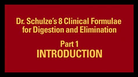 Dr. Schulze's 8 Clinical Formulae