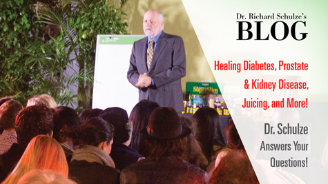 Healing Diabetes, Prostate & Kidney Disease, Juicing, and More!