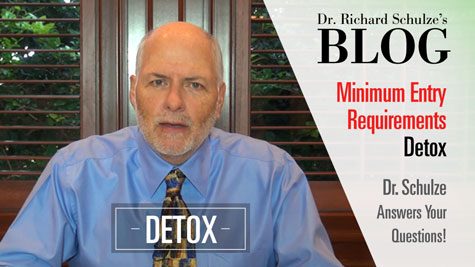 Minimum Entry Requirement #5: DETOXIFICATION