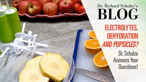 Electrolytes, Dehydration and Popsicles